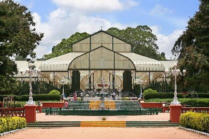 The Glass House in Lal Bagh