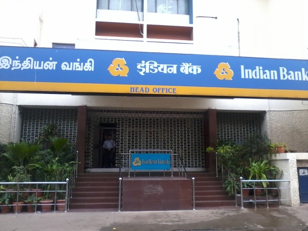 indian bank head office in chennai address