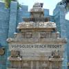A sculpture at V.G.P theme park in Chennai