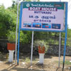 Muttukadu boat house display board for visitors