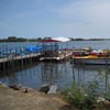 Boating lake view at Muttukadu boat house