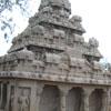 Dharmaraja's ratha of Pancha rathas in Mahabalipuram