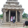 Arjuna's ratha in Pancha rathas area in Mahabalipuram