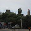 Light house and Olakkaneshwara temple view at Mamallapuram