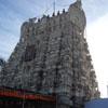 Sthalasayana Perumal temple gopuram view at Mahabalipuram