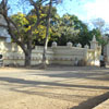 A side wall view of Government college of sculpture and architecture at Mamallapuram