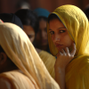 Young woman in Fatehpur Sikri, India