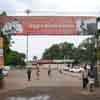 Kovilpatti railway station entrance in Thoothukudi district