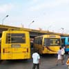 People at Christopher bus stand in Nagercoil