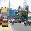 Nagercoil Chettikulam junction roadway