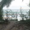 Nagercoil Sanguthurai Beach sand view at Kanyakumari district