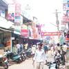 Local shops at Alexandra Press Road at Nagercoil
