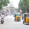 Nagercoil town Court road view