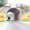 Flyover canal at Myladi road in Nagercoil