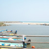 Fishing boats at Manakudi Estuary in Nagercoil