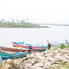 Manakudi Fishing boats view at Nagercoil