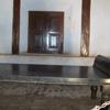 Padmanabhapuram Palace Kings Resting bed made of Granites