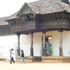 Entrance view of Padmanabhapuram Palace