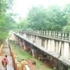 Visitor walking at Mathur thottipalam near Nagercoil