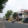 A man riding a bike at East car street in Srivilliputhur in Virudhunagar district