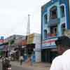 A road view at Srivilliputhur in Virudhunagar district