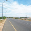 A view of harbour road at Tuticorin