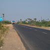Straight road to Tuticorin Airport