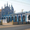 A Lady of Snow Church view at Tuticorin district