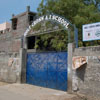 An entrance to Holy Cross Anglo Indian higher secondary school at Tuticorin