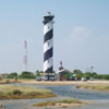 A view of Tuticorin district Light house in hare island