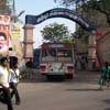 Way to Arignar Anna old bus stand at Tuticorin district