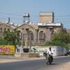 A view of Railway station road at Tuticorin district