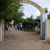 An entrance arch to Farmer's market at Tuticorin district