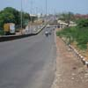 Harbour area V.O.C  road view at Thoothukudi district