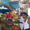 Vegetable store at Sankarankoil daily market in Tirunelveli district