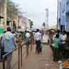 More people at the Sankarankoil bus stand