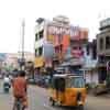 East car road view at Sankarankovil in Thirunelveli district