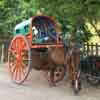 Horse chariot for passengers at Sankarankoil in Nellai district