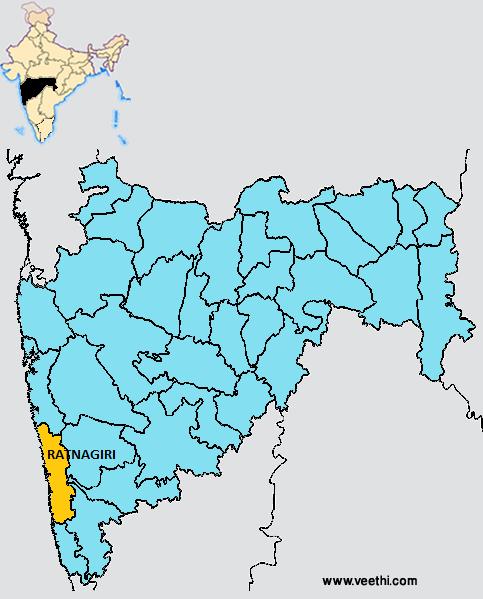 Ratnagiri City At Ratnagiri Maharashtra India: Ratnagiri District
