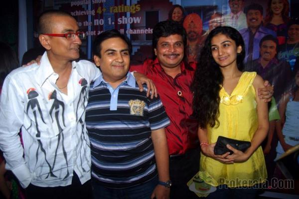Amit Bhatt, Dilip Joshi, Asit Modi and Shweta Bhosle | Veethi