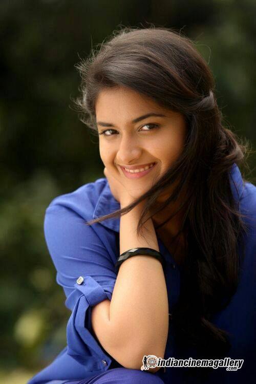 Keerthi Suresh Cute Smiling | Veethi