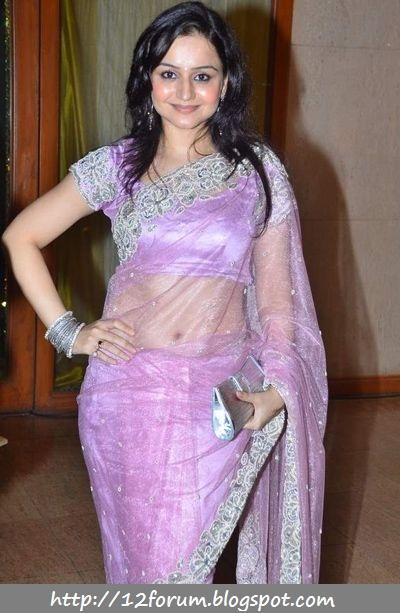 actress muskaan mihani in saree