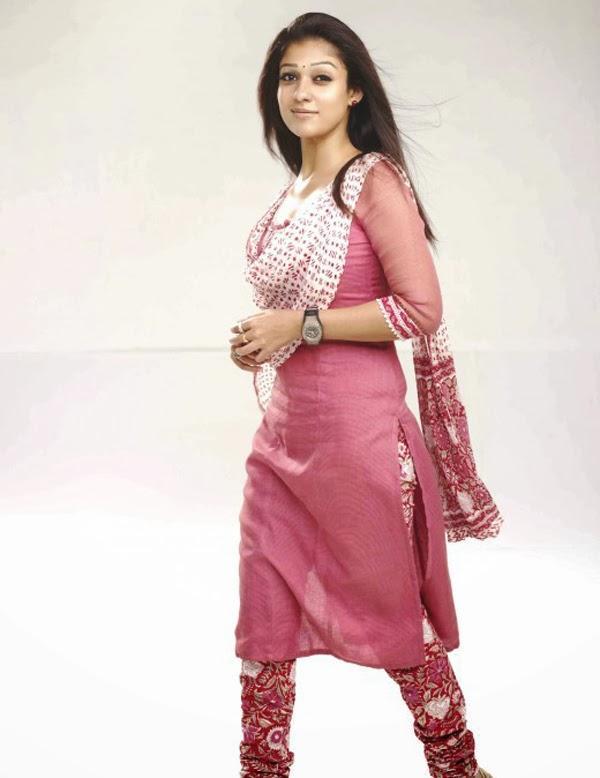 Nayanthara in Cute Churidar | Veethi