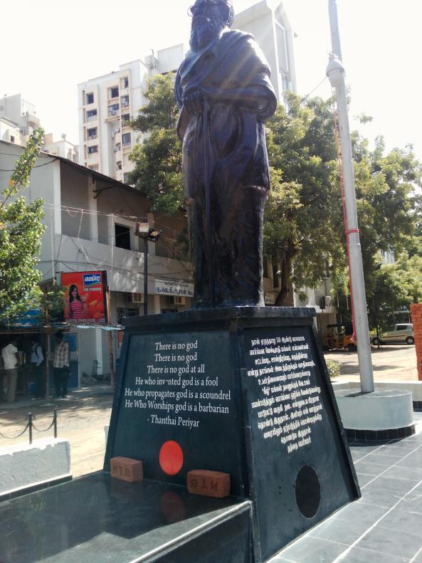 Statue of Periyar [Source: Veethi.com]