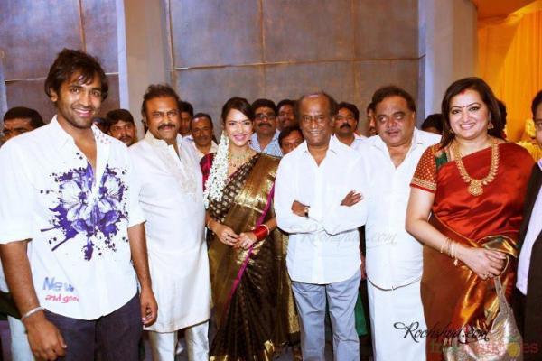 Rajinikanth Family Rajinikanth with Mohan...
