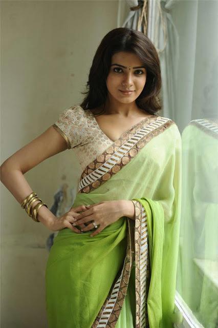 saree hot actress Samantha