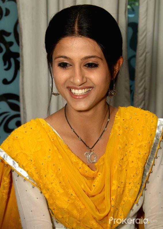 tv actress shefali sharma at colors tv serial gurbani press meet