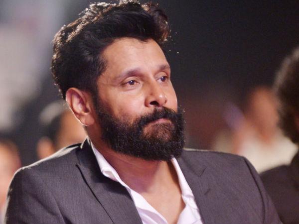 Tamil Actor Vikram New Hairstyle Veethi