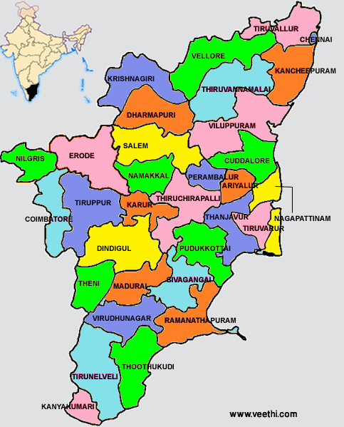 Tamil Nadu India  city photos gallery : Tamil Nadu: About Tamil Nadu | Veethi