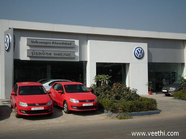 volkswagen-showroom-at-ahmedabad